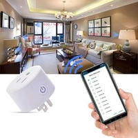 DoHome-prise intelligente Wifi   1 2 4 pieces  prise intelligente  compatible avec  Apple Homekit  sortie de prise  interrupteur  minuterie  pour la maison APP Alexa Google Assistant