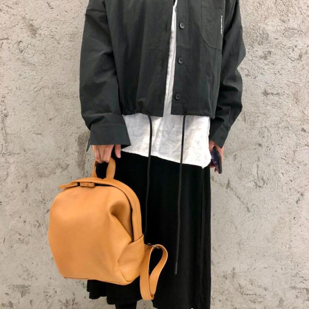 حقيبة ظهر نسائية عتيقة عالية الجودة حقائب فاخرة من الجلد الطبيعي حقيبة ظهر نسائية بسيطة غير رسمية حقيبة سفر للسيدات خارجية