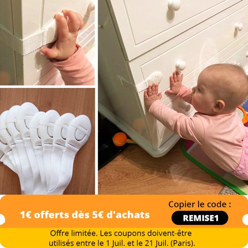 10 шт./лот Блокировка от детей защита от детей блокировка дверей для безопасности детей пластиковый защитный замок