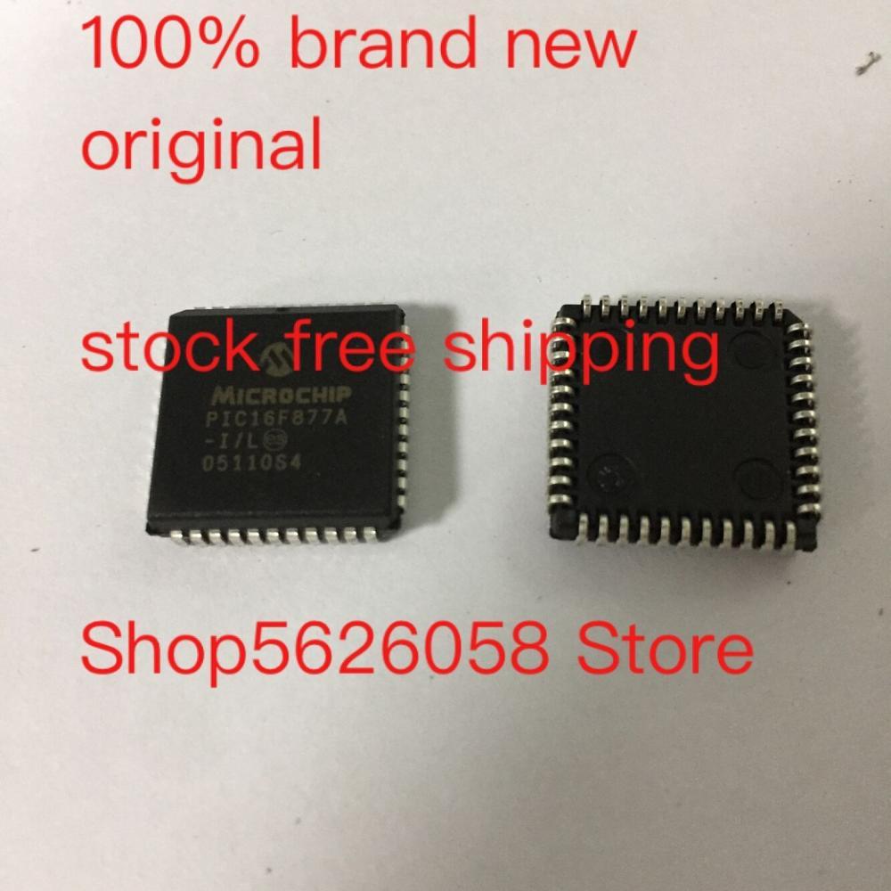 PIC16F877A-I/L PLCC 100% nuevo original 5 unids/lote STOCK