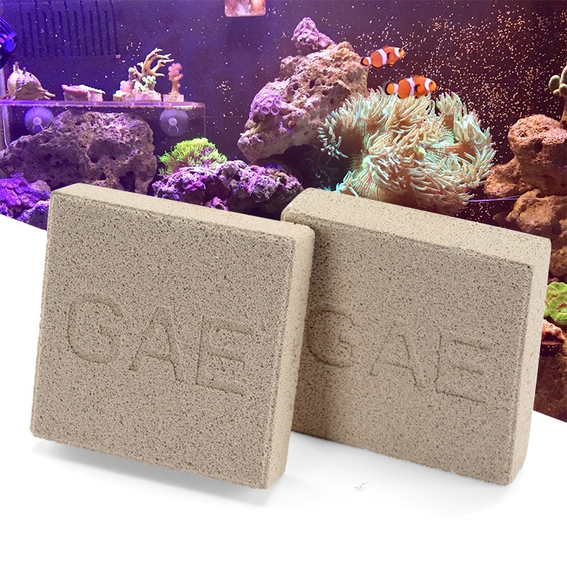 GAE Bacteria ladrillo Super Energy filtro bacterias casa filtro Material eliminar NO2 NO3 PO4 NH3/4 de agua dulce de mar