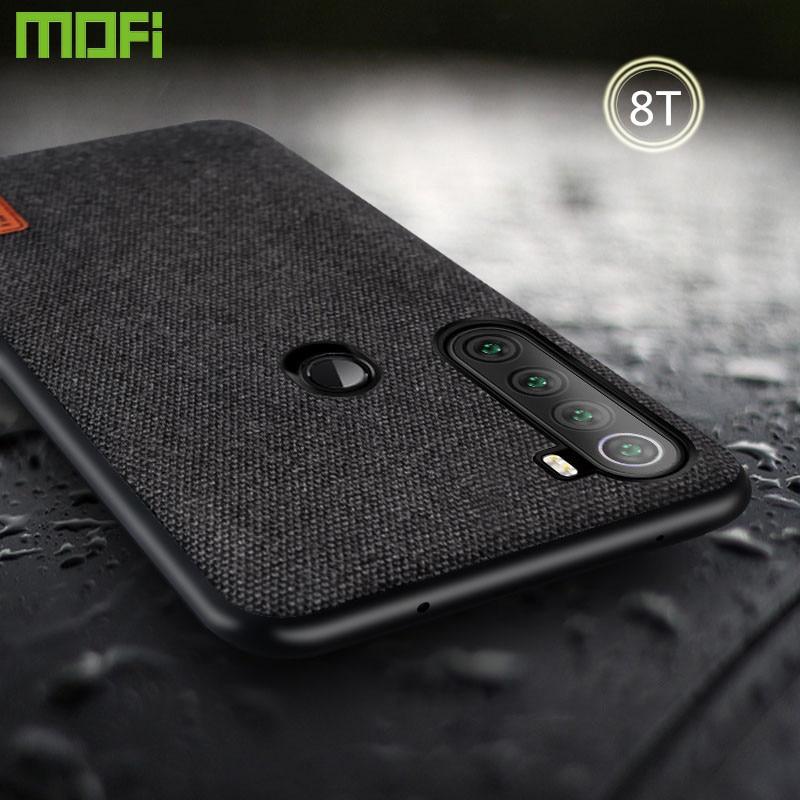 Funda de silicona para Xiaomi Redmi Note 8T, funda de MOFi para Redmi Note 8T