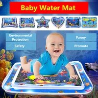 baby water mat inflatable pad cushion infant toddler water play mat for children early education developing kids toy summer toys