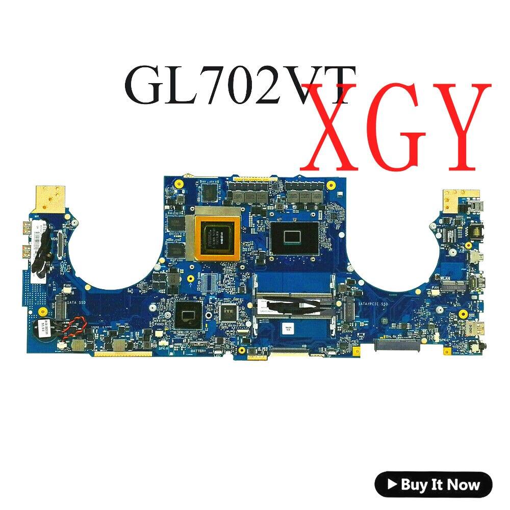 For Asus ROG Strix S7VT GL702 GL702V GL702VT W I5-6300HQ Motherboard Mainboard 100% Test ok