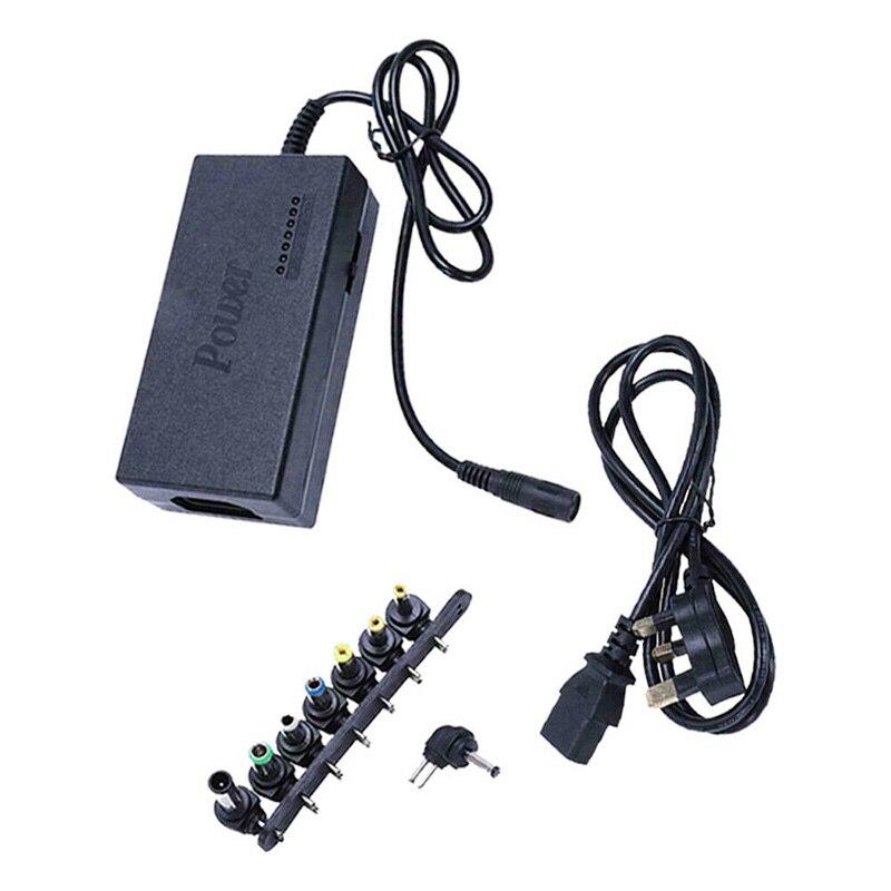 Nuevo adaptador de fuente de alimentación para portátil 96W 12-24V, Conector de carga negro para ordenadores portátiles Samsung Lenovo Sony Dell, accesorios para portátiles