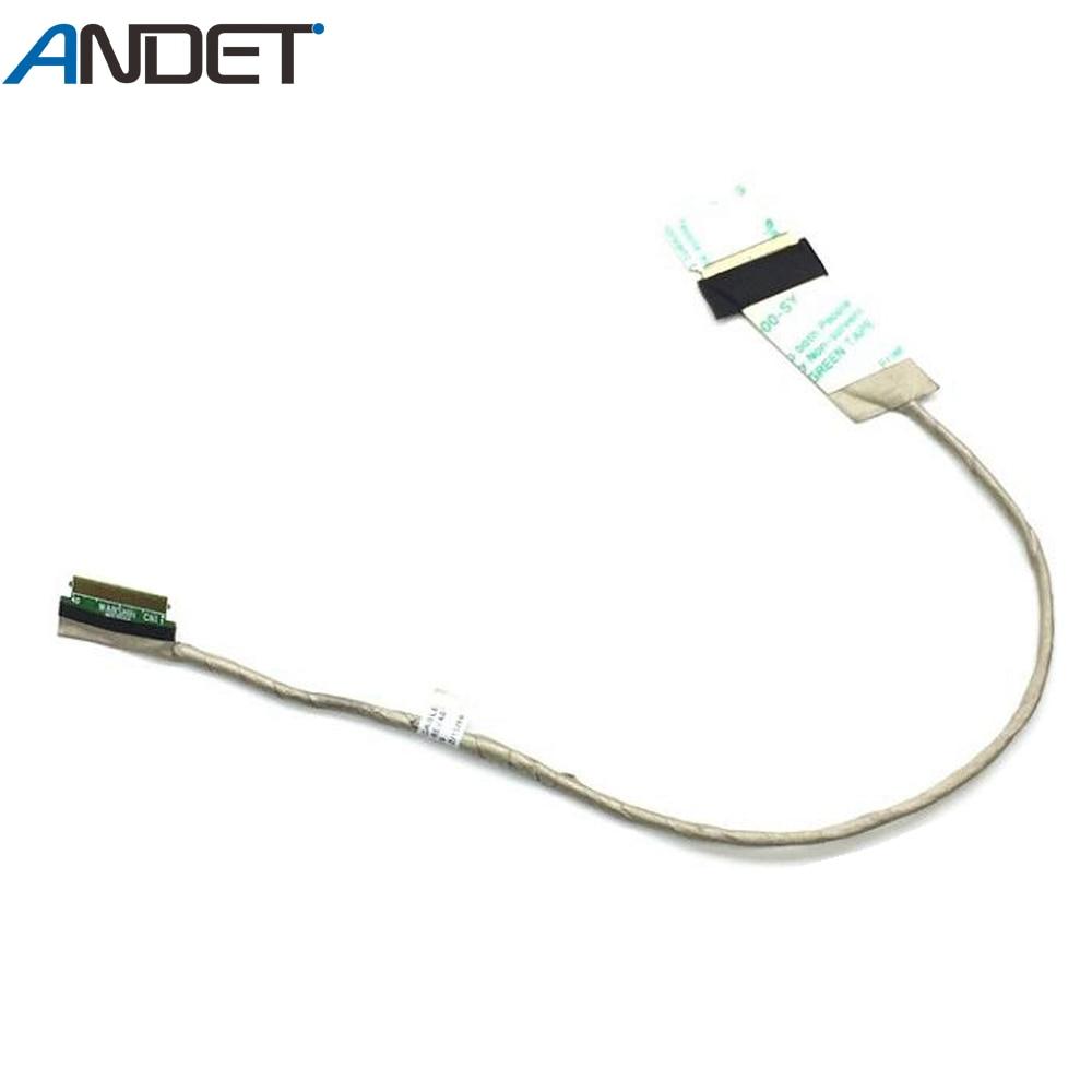 Nuevo Original para Lenovo ThinkPad T520 T520i W520 T530 W530 LCD Cable 04W1565 50.4QE04 001 50.4KE10! 011