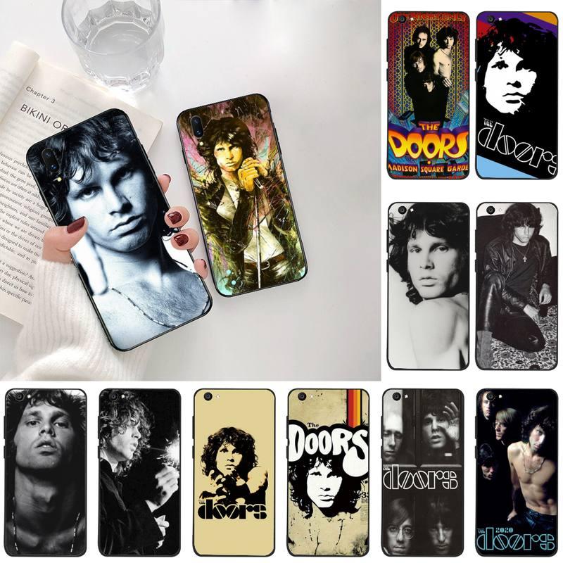 YJZFDYRM The doors JIM MORRISON Custom Soft Phone Case For Vivo Y91c Y17 Y51 Y67 Y55 Y93 Y81S Y19 V17 vivos5