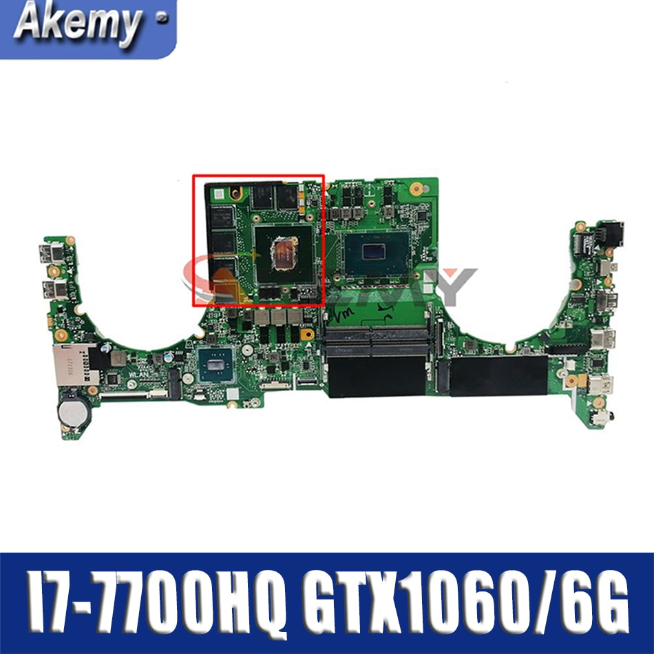 GL503 ل ASUS GL503VM GL503G GL503VD FX503V FX503VD FX503VM اللوحة المحمول I7-7700HQ GTX1060/6G DABKLMB1AA0 اللوحة جديد!!