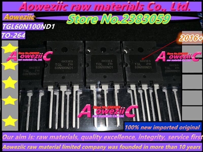 Aoweziic100 ٪ الجديدة المستوردة الأصلي TGL60N100ND1 60N100 TO-3P IGBT أنبوب واحد 60A 1000V آلة لحام الترانزستور المستخدمة عادة
