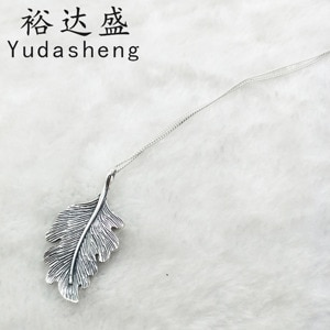 Oak Leaf Necklace The Symbolizes The Affirmation of Life, Represents Vitality, Longevity, and Loyalty To Its Roots