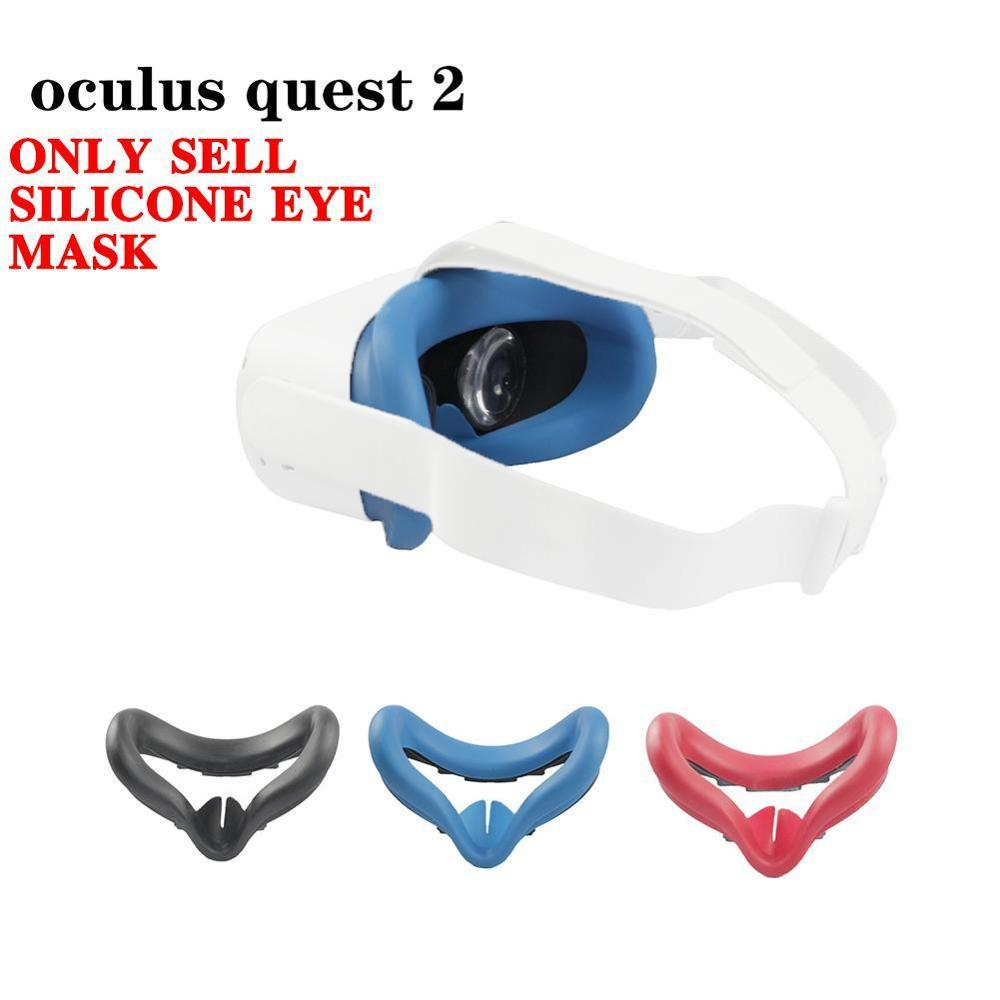 Eye Mask Cover For Oculus Quest 2 VR Glasses Silicone Anti-sweat Anti-leakage Light Blocking Eye Cover Pad For Oculus Quest 2 enlarge