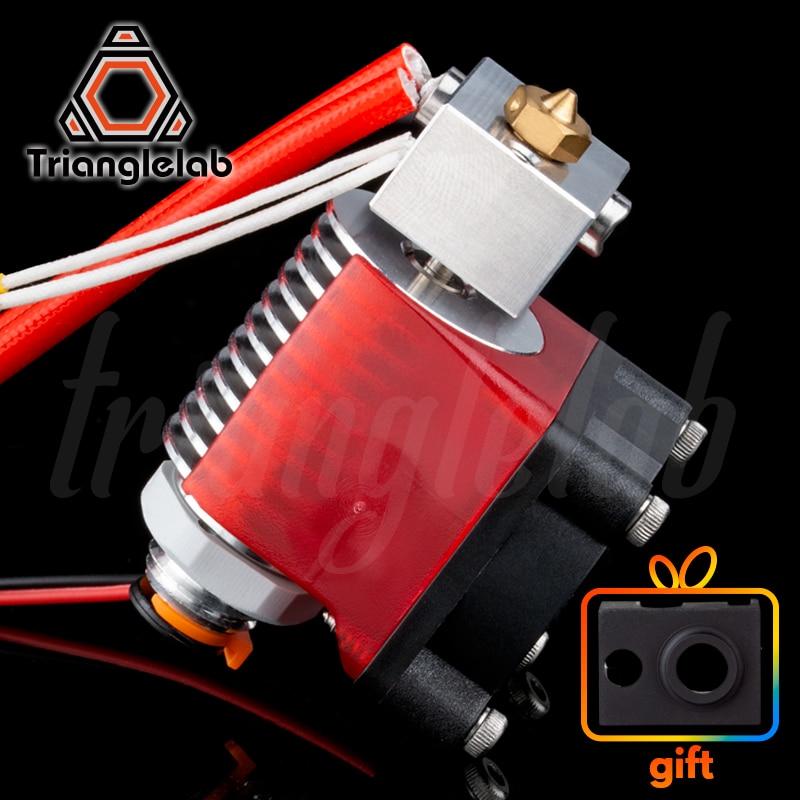 AliExpress - V6 Threaded HeatSink v6 hotend 12V/24V remote Bowen print J-head Hotend and cooling fan bracket for E3D HOTEND for PT100 titan