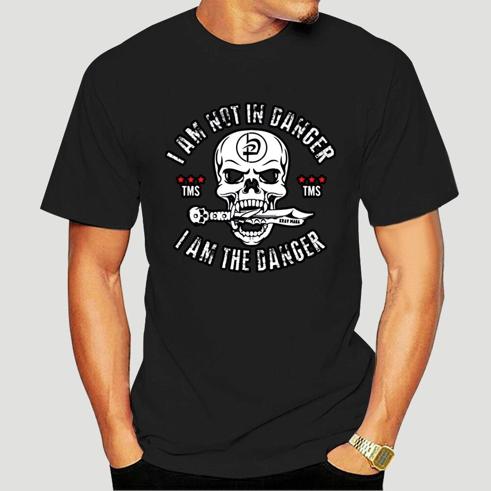 Krav Maga-Camiseta de Hip Hop para hombre, camisa Masculina de algodón de...