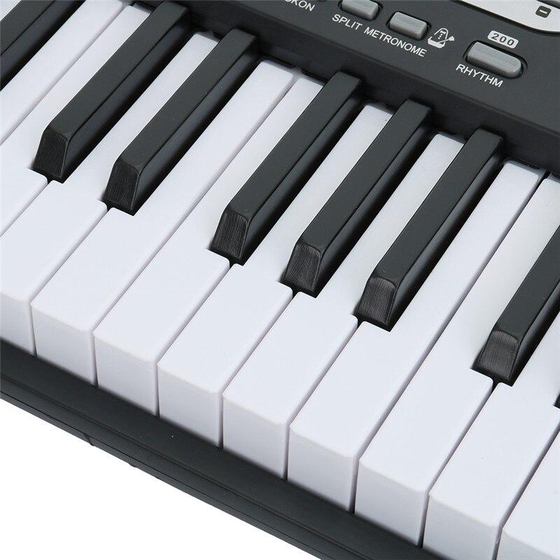 61 مفتاح متعدد الوظائف لوحة المفاتيح الإلكترونية الموسيقية هدية عيد ميلاد للتعليم المبكر الموسيقى التدريب الطفل المبتدئين الاطفال