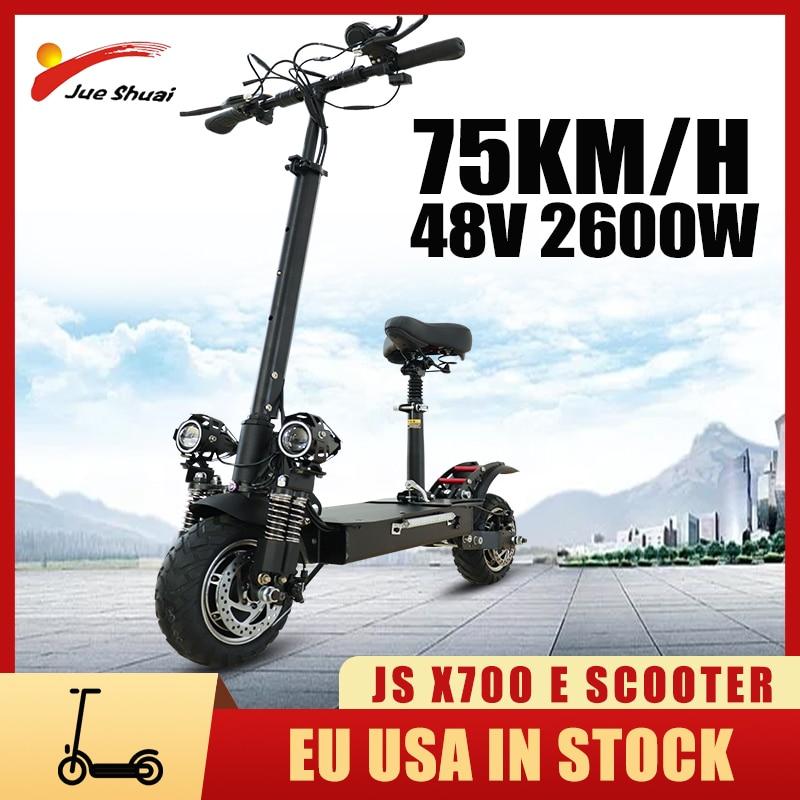 V/48V/52V Scooters eléctricos Adultos 2000w Dual Motor scooter eléctrico con asiento 20AH...