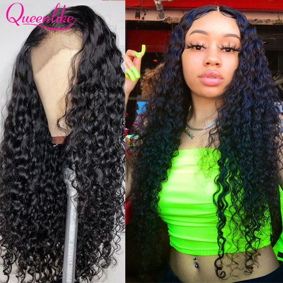 30 Inch Deep Wave Wig 13x6 HD Lace Frontal Wig Brazilian Human Hair Wigs For Women 250% 180% Remy 4x4 5x5 6X6 Lace Closure Wigs