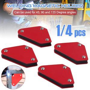 1 шт. сварочный магнит магнитный квадратный держатель стрелочный зажим 9 фунтов Емкость 45 °/90 °/135 ° Магнитный сварочный держатель, w/o переклю...