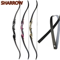 1pc 30 50lbs f179 recurve bow 56 american hunting bow tranditional longbow 17 alloy riser outdoor archery training shooting