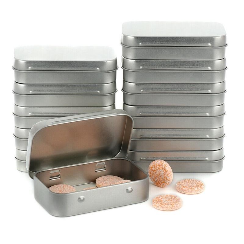 حار 24 قطعة خزانة تخزين معدنية صغيرة منظم للمال عملة مفتاح الحلوى