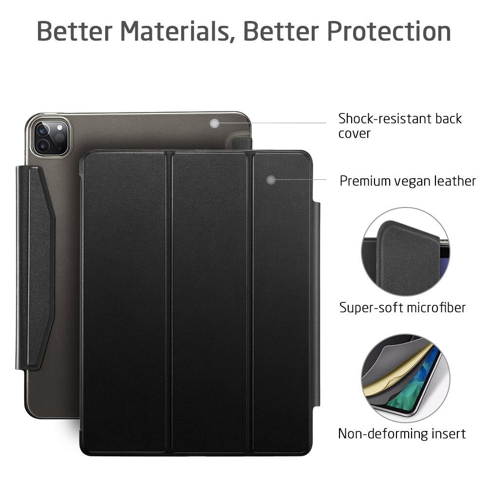 ESR para iPad Pro caso 2021 Smart Cover para iPad Air ...