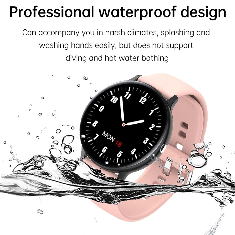 2021 New Women Smart Watch Woman Fashion Watch Heart Rate Sleep Monitoring For Android IOS Waterproof Ladies Smartwatch+Box enlarge