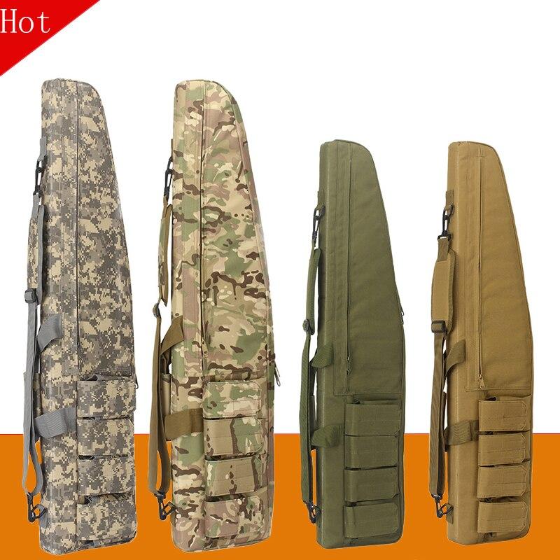 Waterproof Tactical Heavy Duty Gear Long Gun Bag Airsoft Hunting Military Foam Rubber Sniper Rifle S