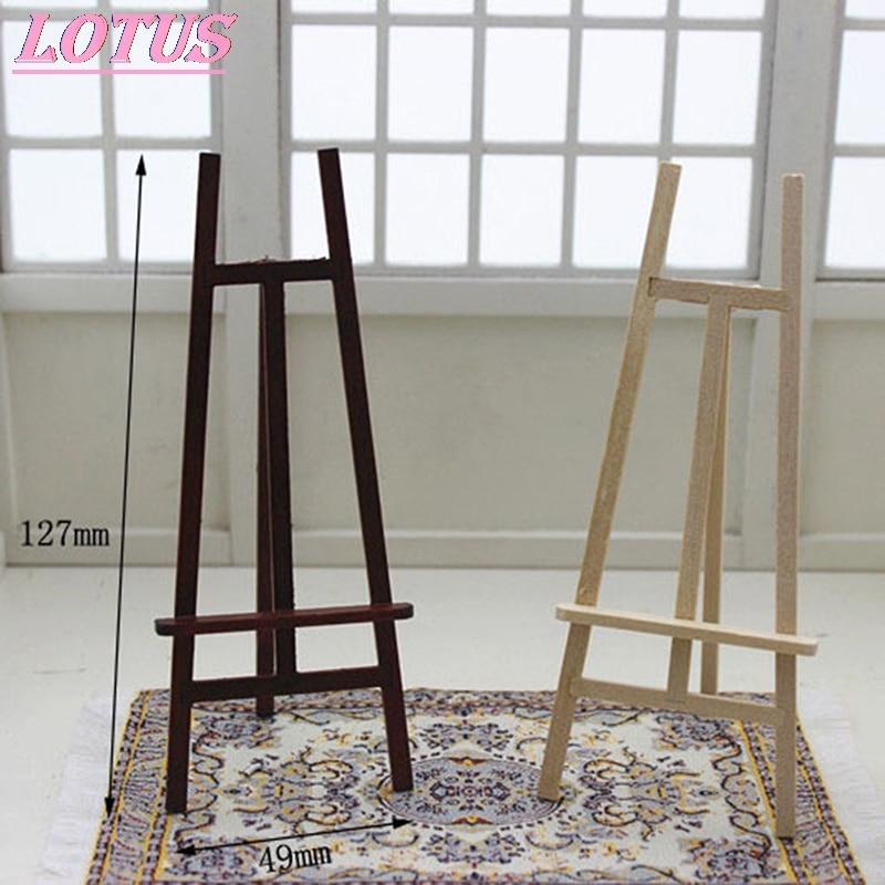 Деревянный мольберт для украшения, мини-мольберт для рисования, деревянный Настольный держатель для карт, Свадебный выставочный стенд, кук...