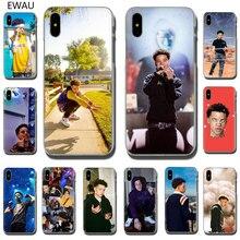 EWAU Lil Mosey Rapper Hard phone cover case for iPhone SE 2020 11 Pro 6 6S Plus 7 8 Plus X XS XR XS Max