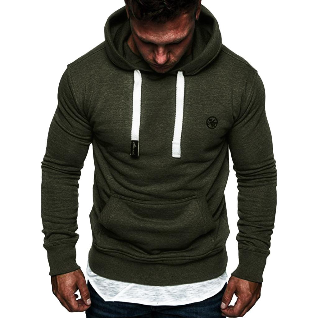 Hoodies de cordão masculino casual moletom dos homens outono fasion com capuz grosso hoodies hip hop roupas de marca masculina