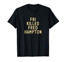 Le FBI a tué FRED HAMPTON t-shirt-t-shirt homme-noir