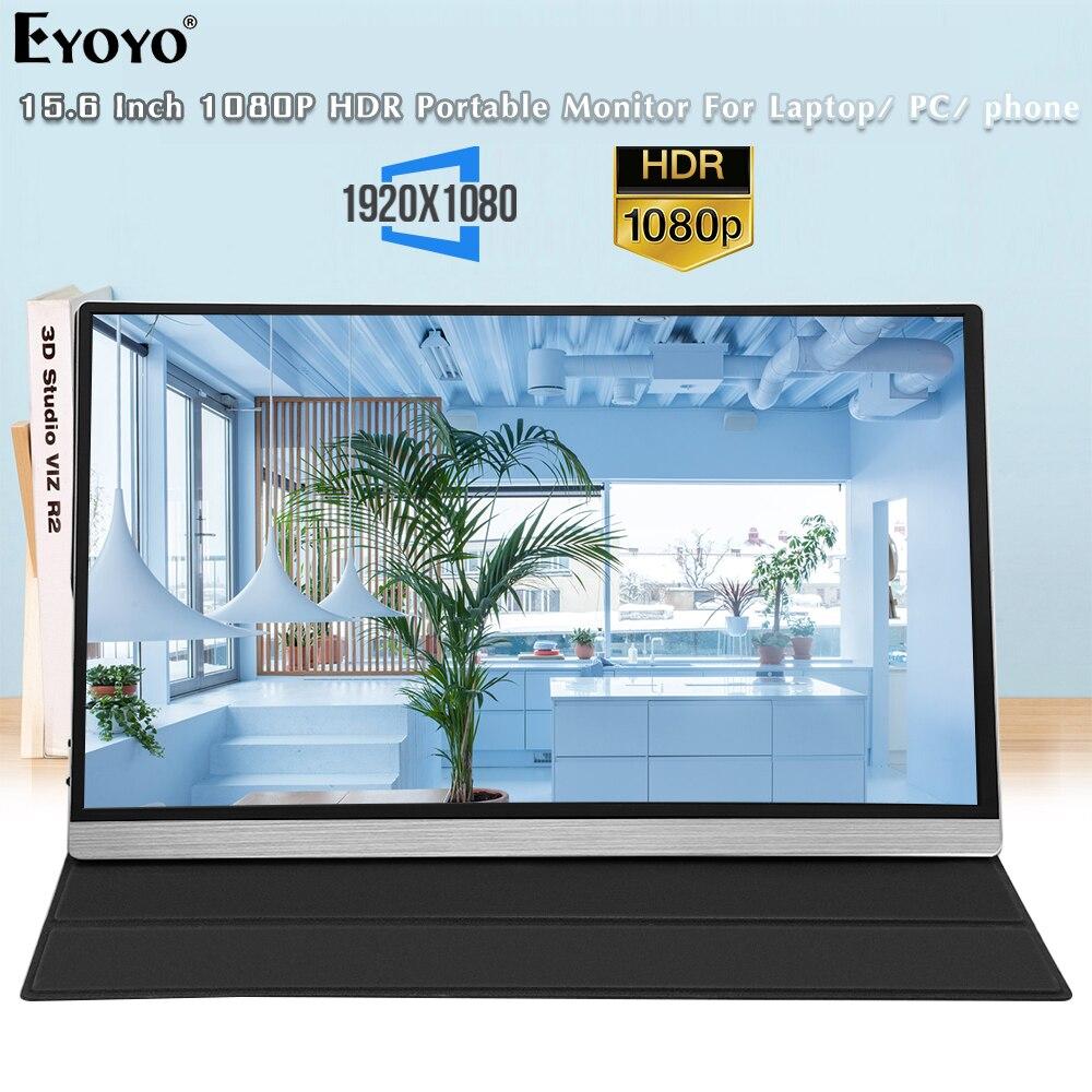 شاشة محمولة Eyoyo EM15FX 15.6