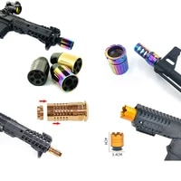 alloy ccw slh 14mm negative thread barrel brake cap airsoft aeg gbb ar15 m4m16 airgun paintball accessories