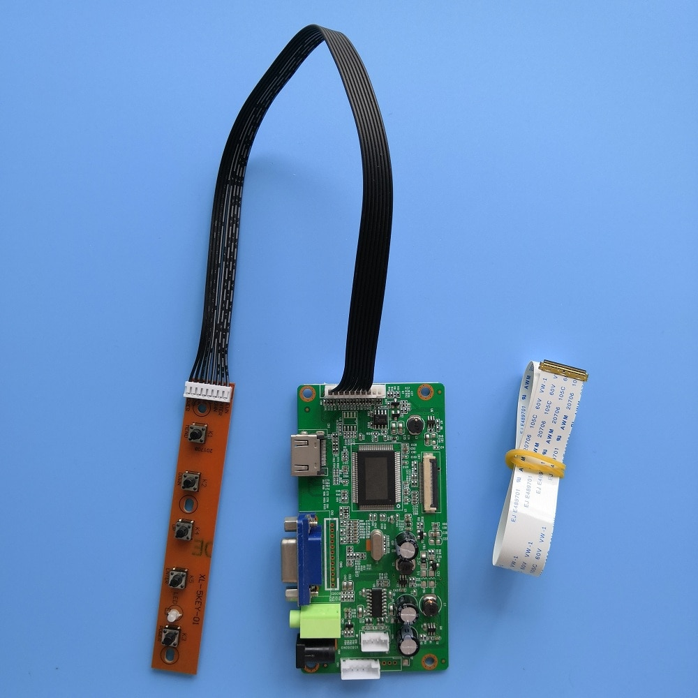 ل NV156FHM-T01 شاشة رصد عرض LCD EDP 1920X1080 لتقوم بها بنفسك تحكم مجلس سائق عدة VGA 40Pin 15.6