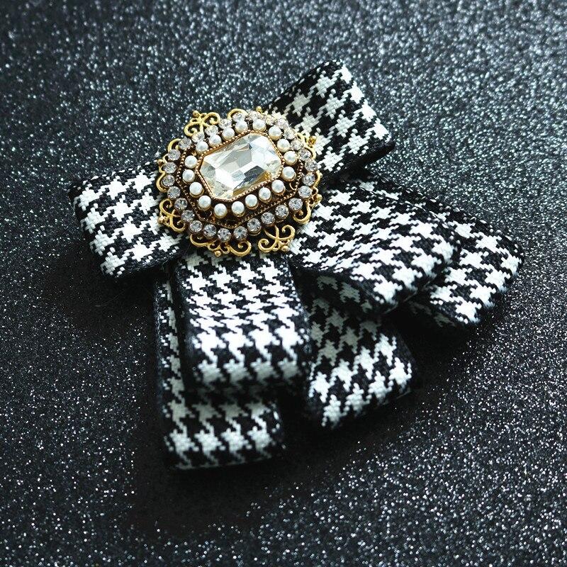 Модный мужской женский галстук бабочка Британский многослойный шейный цветок Корейская версия Свадебный галстук бабочка ручной работы с кристаллами для жениха