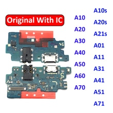 USB Charger Charging Port Dock Connector Board Flex Cable For Samsung A50 A505 A10 A20 A30 A40 A60 A