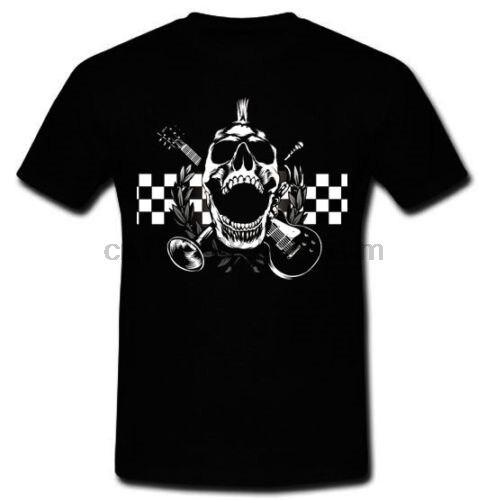 Los Locos Final negativo español banda de ska punk SkaP Pulpul camiseta S, M, L, XL, 2XL Camiseta Hombre t camisa Tops Tees