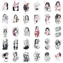 30 قطعة/المجموعة المؤقتة الوشم ملصق بحار القمر وهمية الوشم للنساء الفتيات الجسم الذراع الأيدي فو Tatouage Tatuaggi Temporanei