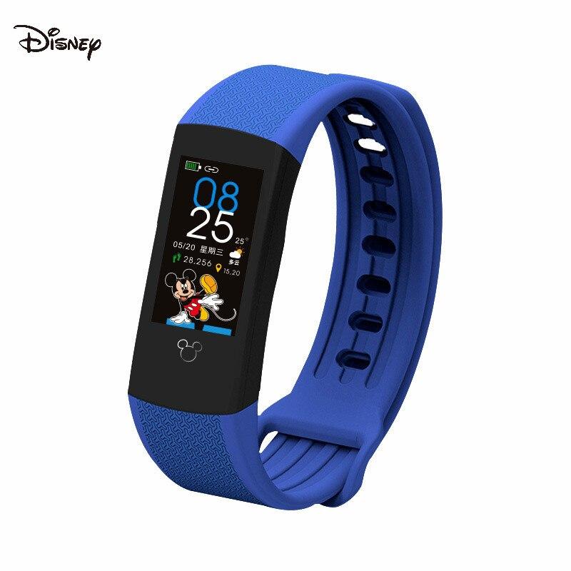 Medição de Temperatura Relógio dos Desenhos Proteção de Segurança Disney Pulseira Mickey Crianças Animados Estudante Tela Toque