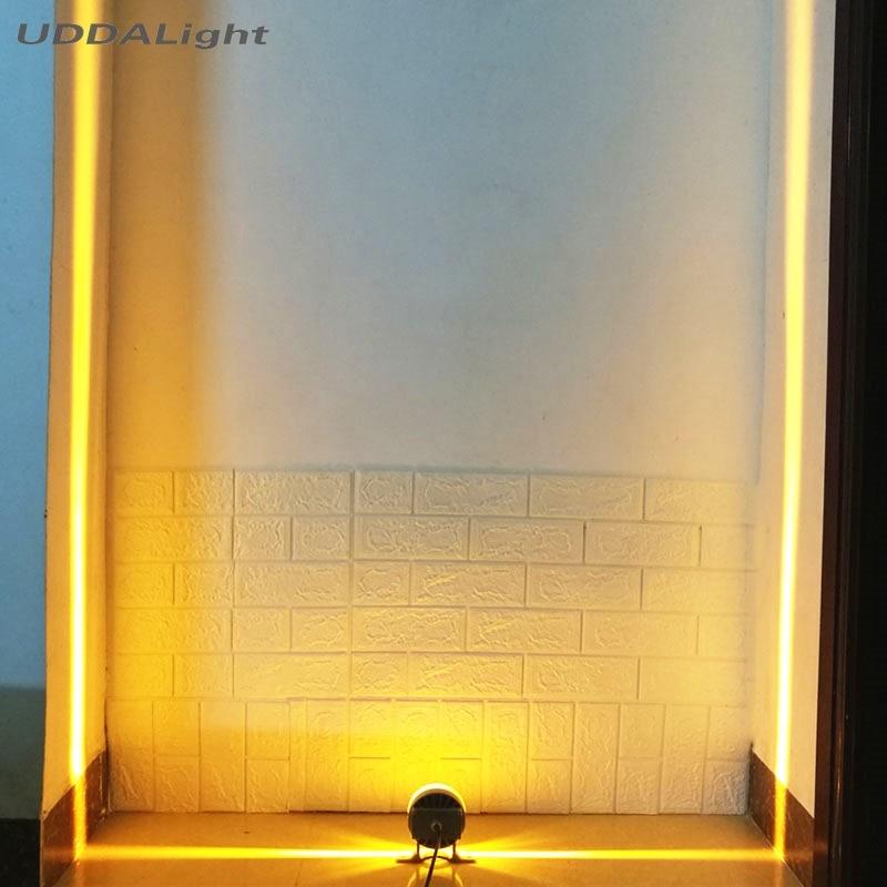 كري Led نافذة ضوء 10 واط الشرفة مصابيح 360 درجة بناء منزل الزاوية المؤثرات الخاصة شرفة في الهواء الطلق الجدار مصباح ديكور Ip65