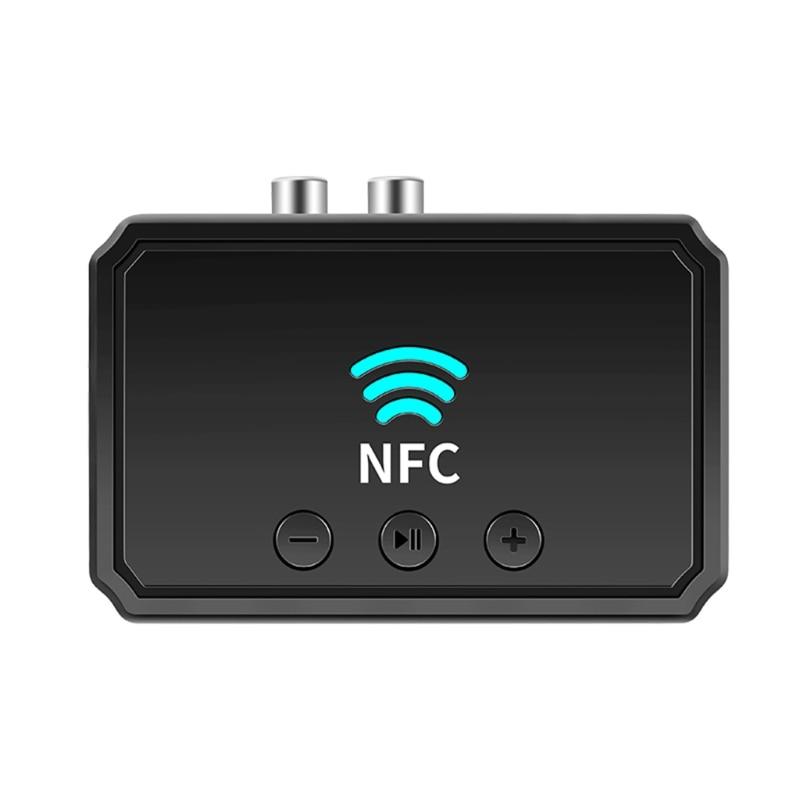 X3UA جديد استقبال NFC5.0 2RCA بلوتوث متوافق Aux محول مكبر صوت للسيارة المنزل ستيريو الموسيقى مكبر للصوت U القرص العالمي