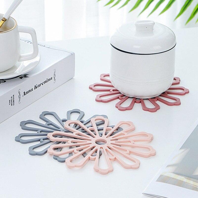 Posavasos de silicona, posavasos Natural redondo, posavasos aislantes para té y café, soporte para bebidas, artesanías DIY, decoración de boda