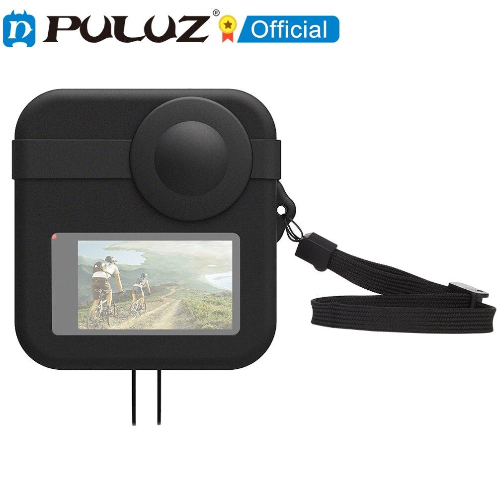 Funda protectora para GoPro Max, cubierta protectora de silicona, accesorios para Cámara...