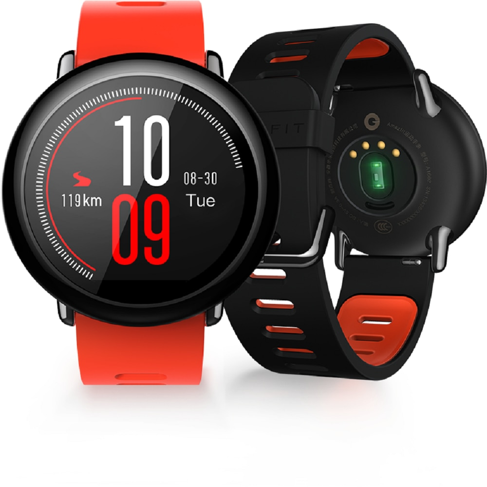 Amazfit Pace Global Version Smartwatch Smart Watch Bluetooth Music GPS GLONASS Information Push Heart Rate For Android phone