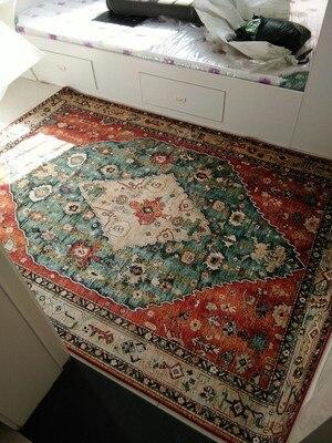 سجاد على الطراز الفارسي لغرفة المعيشة ، إكسسوار أحمر كبير/غرفة نوم وردي زهري ، سجادة أرضية لطاولة القهوة