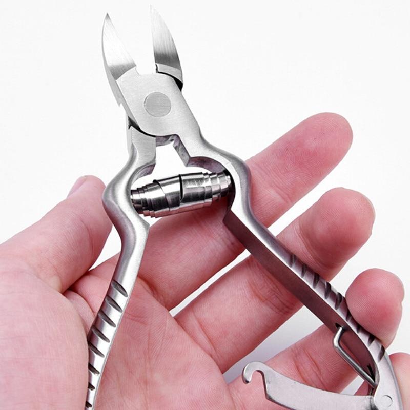 1Pcs Professional Fingernail Toenail Cuticle Nipper Dead Skin Remover Trimming Nail Clipper Cuticle Scissor Plier Tool Pedicure недорого