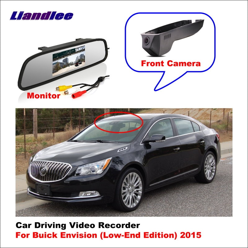 Liandlee Car DVR Wifi Video Recorder Dash Cam Camera For Buick Envision (Low Edition) 2015 Night Vision APP Control Mobile Phone