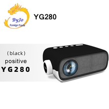 LEJIADA YG280 Mini projecteur LED Home cinéma média lecteur Audio HDMI USB support 1080P vidéo poche Portable Projektor