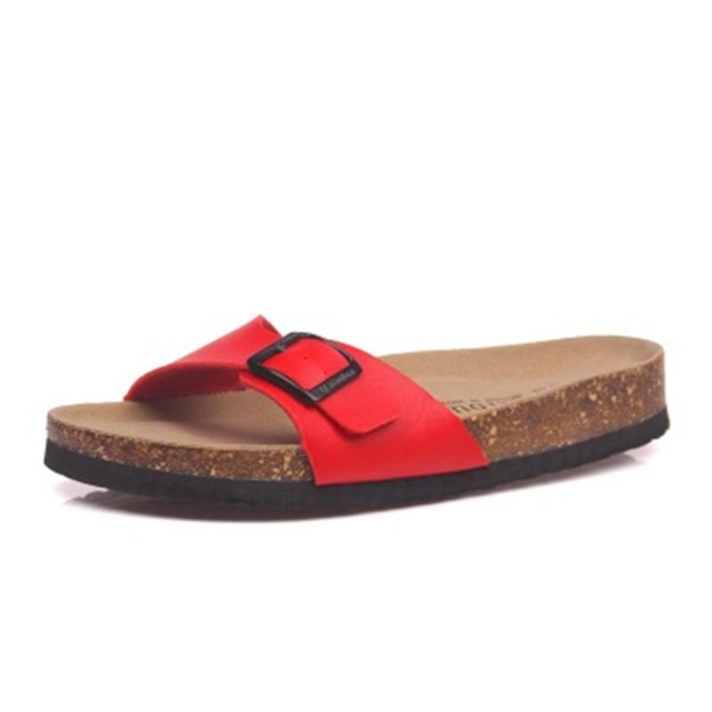 Zapatos de estilo de verano para hombre sandalias ortopédicas zapatillas de corcho Slip-on Casual clásicos Flip Flop tamaño 35-45 zapatos negro marrón blanco rosa
