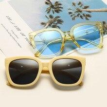 Square Sunglasses Woman Retro Sun Glasses for Women Europe New Couples Street Shot Shade Uv400 Eyewe