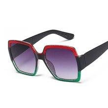 COOYOUNG 2020 Fashion Square Women Brand Designer Sunglasses Ladies Oversize Sun Glasses Female Oculos De Sol UV400
